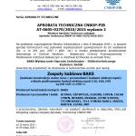 Approval CNBOP- E30, E90 Systems