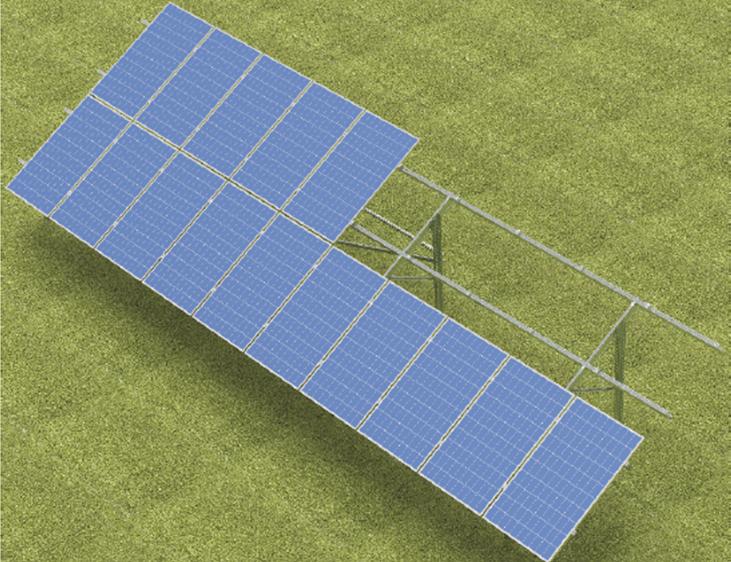 Wszystkie nowe Konstrukcje do paneli fotowoltaicznych, solarnych, ogniw ZD35
