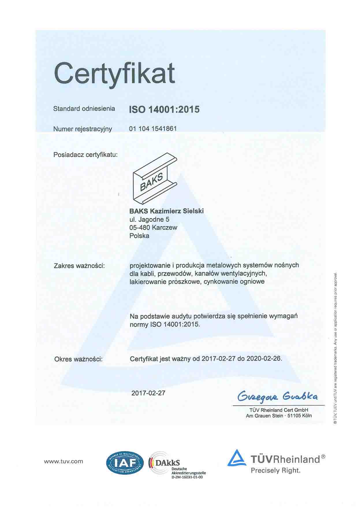 BAKS_17_14001_Certyfikat_PL